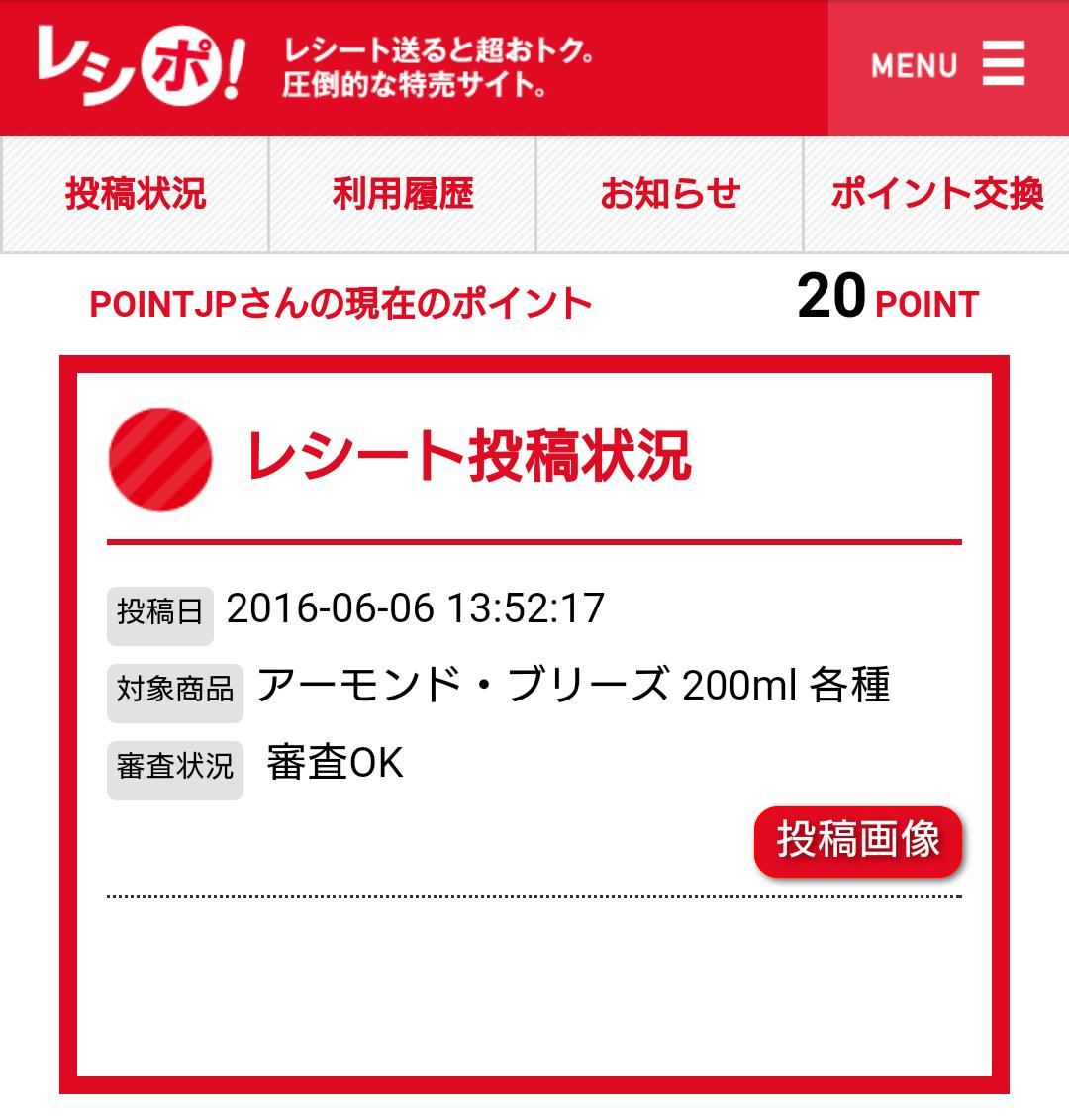 レシポ/審査OK