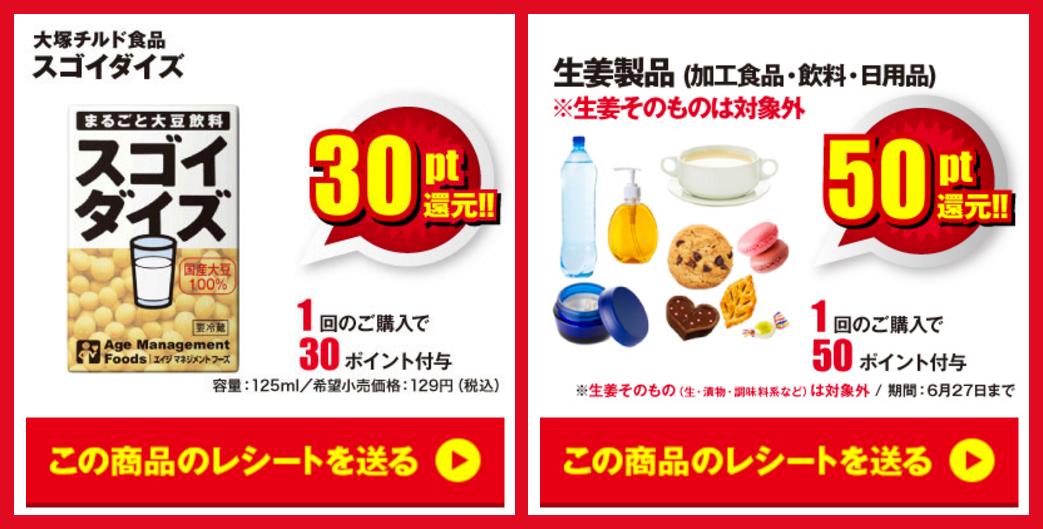 レシポ/スゴイダイズ/生姜製品